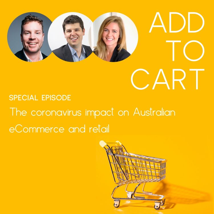 cover art for COVID-19: Australian eCommerce Impact (So Far). Assessing the impact and exploring tactics for Australian retailers | #008