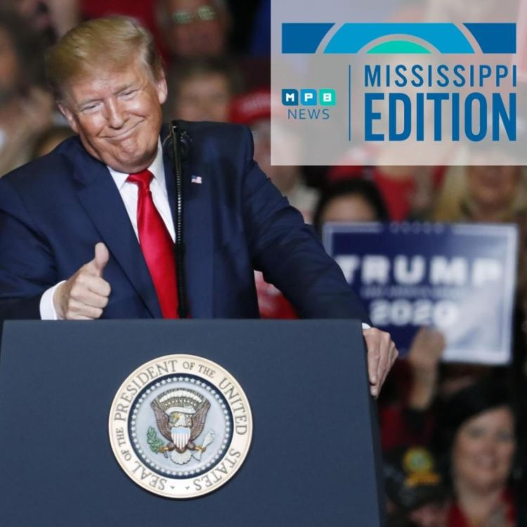 cover art for ME 11/4/19 - Trump in Tupelo | Byte Size Tech | SOS Candidates Watson and DuPree
