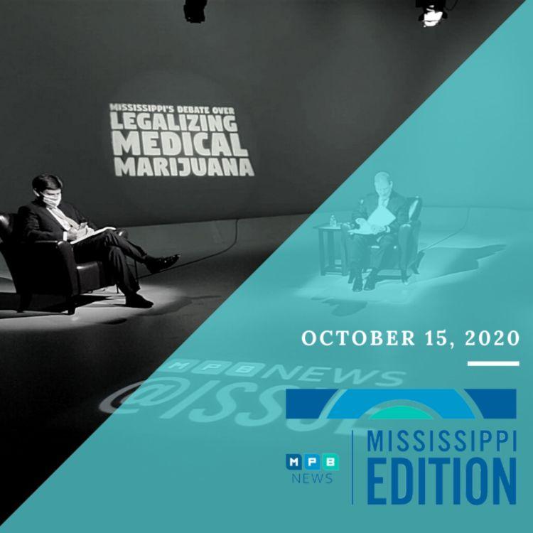 cover art for 10/15/20 - Medical Marijuana Debate | Census Order to Halt | Book Club: White Lies