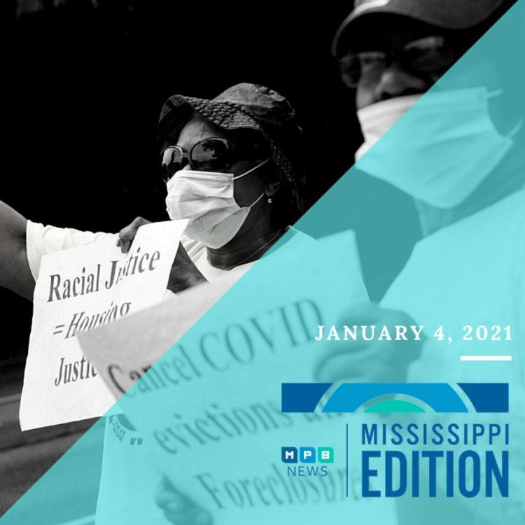cover art for 1/4/21 - Lt. Gov. Hosemann Previews Session | Eviction Moratorium | Lefleur's Bluff State Park Museum Grant