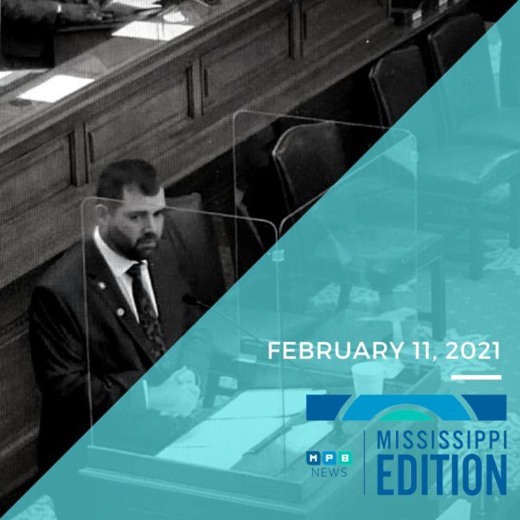 cover art for 2/11/21 - Senate Bill Raises Tension | Community Health Centers & Vaccine Access | Book Club: I Don't Like the Blues