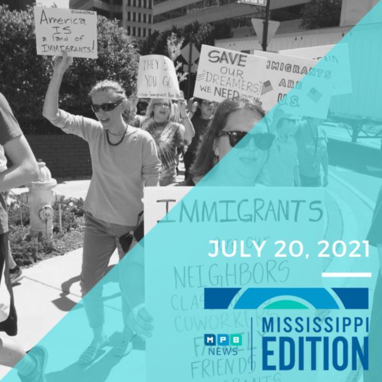 cover art for 7/20/2021 - Delta Variant | DACA | Jackson Crime