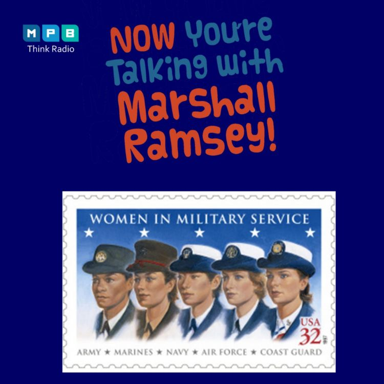 cover art for Now You're Talking w/ Marshall Ramsey | Military Women's Summit 2021