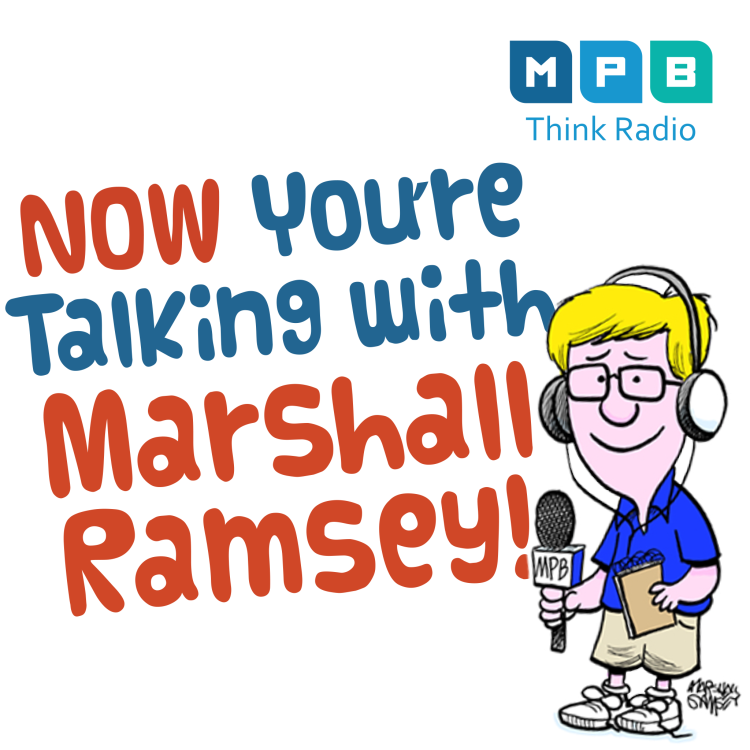 cover art for Now You're Talking with Marshall Ramsey: The author & the illustrator