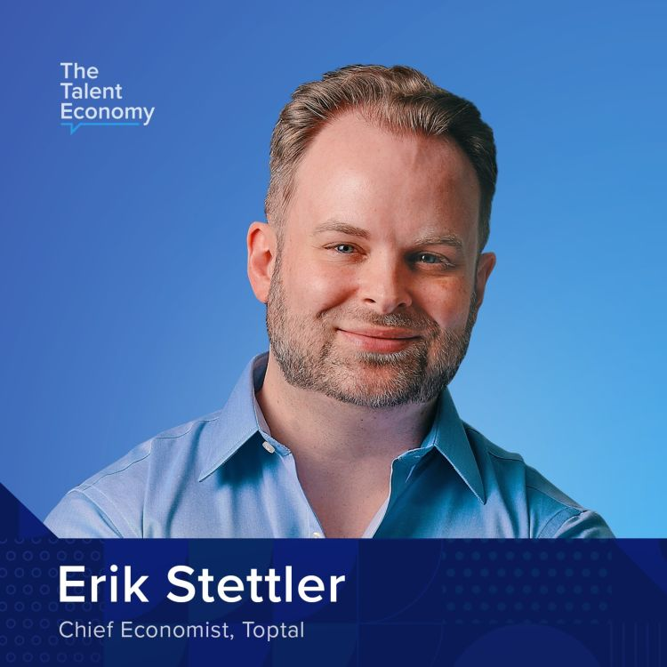 cover art for Putting a Dent in the Universe: Introducing Toptal Chief Economist Erik Stettler