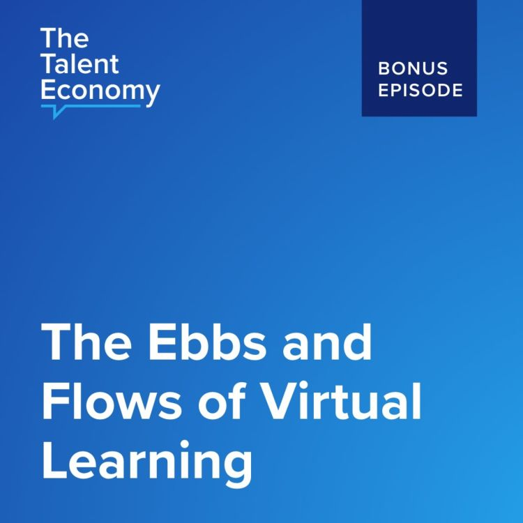 cover art for The Ebbs and Flows of Virtual Learning