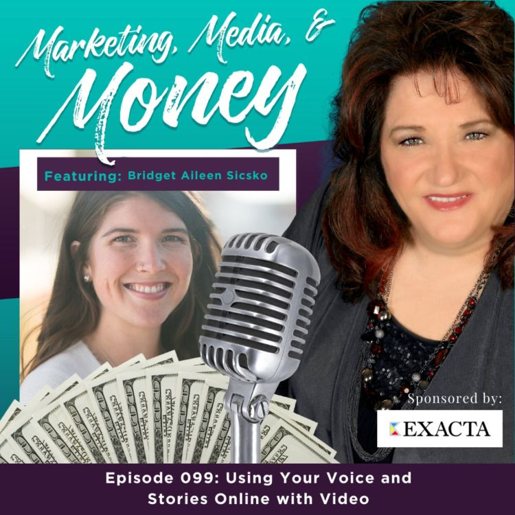 cover art for Using Your Voice and Stories Online with Video with Bridget Aileen Sicsko