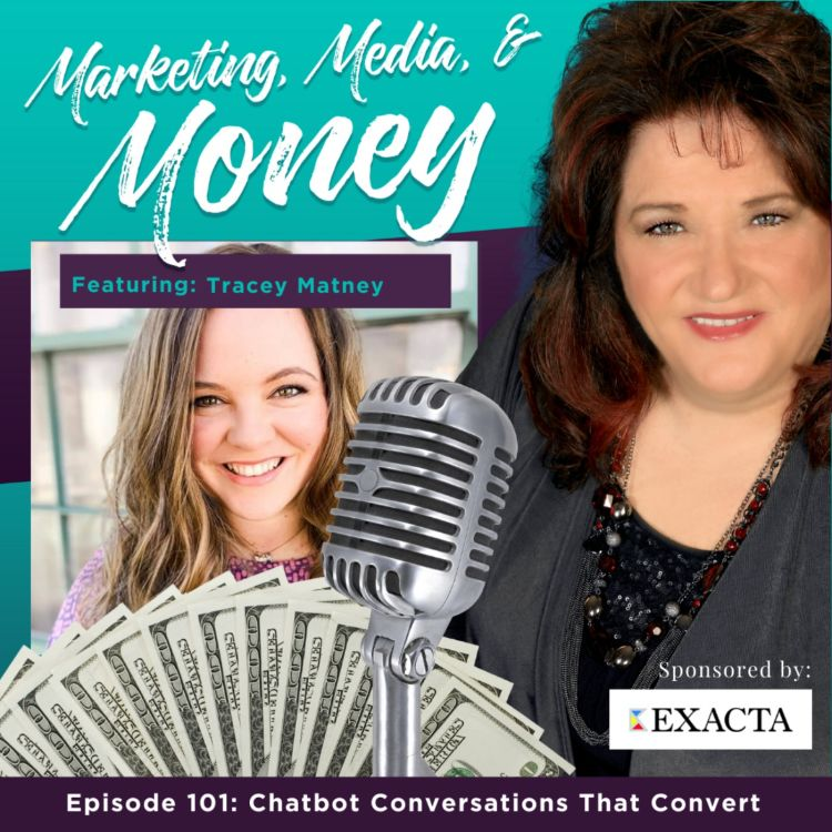 cover art for Chatbot Conversations That Convert with Tracey Matney