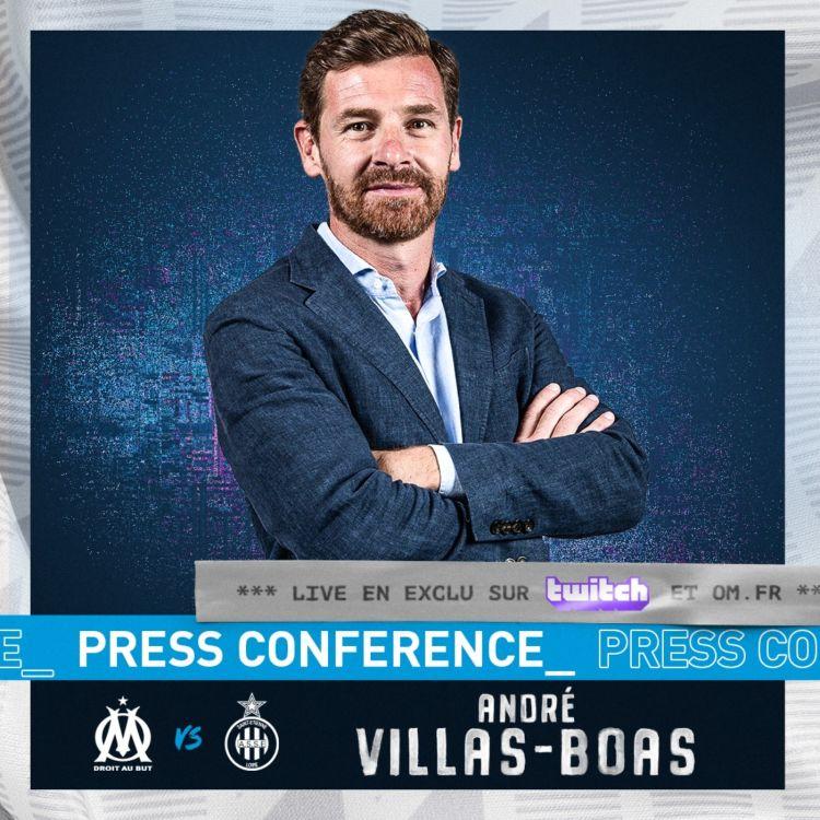cover art for OM - ASSE  l La conférence de presse d'André Villas Boas