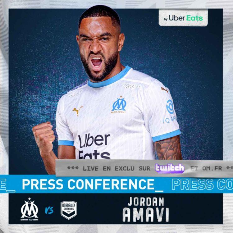 cover art for OM - FCGB l La conférence de presse de Jordan Amavi