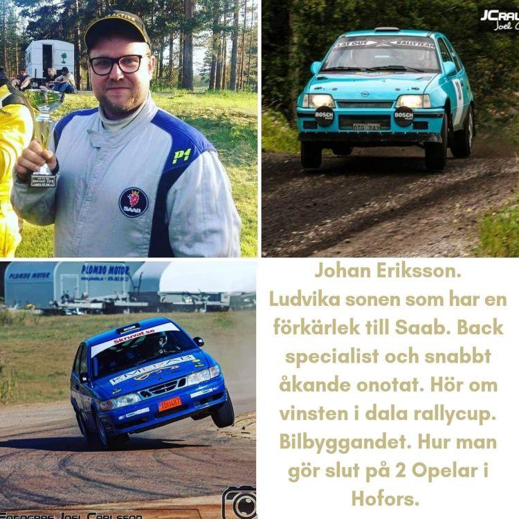 cover art for #23 Johan Eriksson