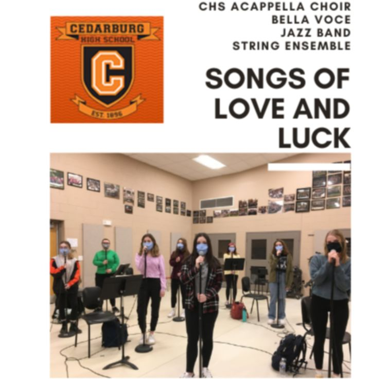 "cover art for CHS SINGS - ""Songs of Love and Luck"""