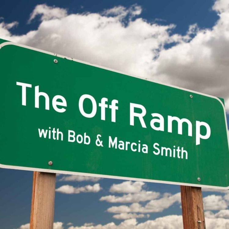 """cover art for The Off Ramp with Bob & Marcia Smith - """"Feel Good Trivia"""""""