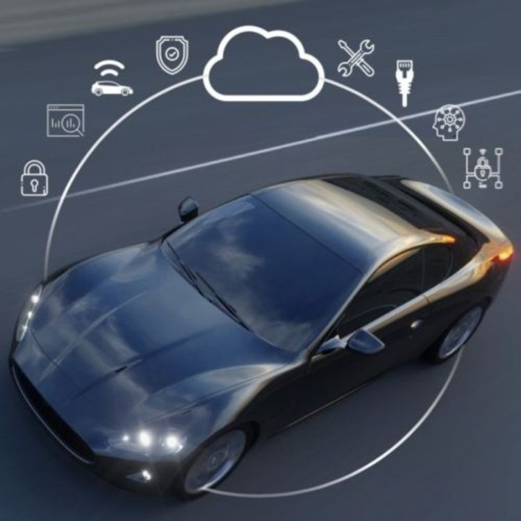 cover art for The Safety Behind Connected Vehicles