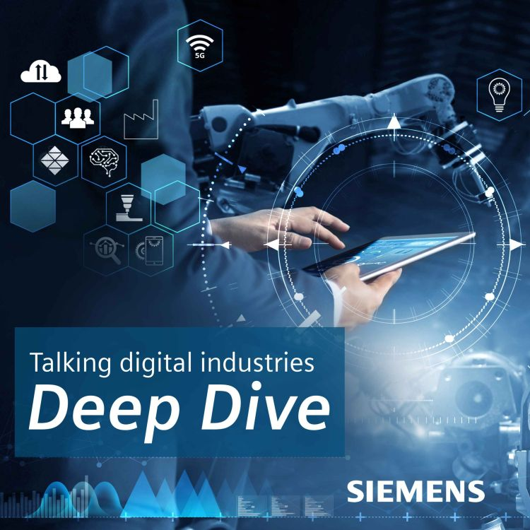 cover art for The Deep Dive – From punched tape to the digital twin, the Sinumerik Story
