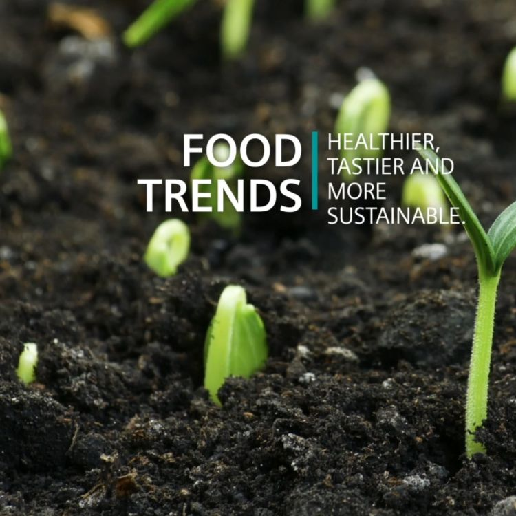 cover art for Food trends - healthier, tastier and more sustainable