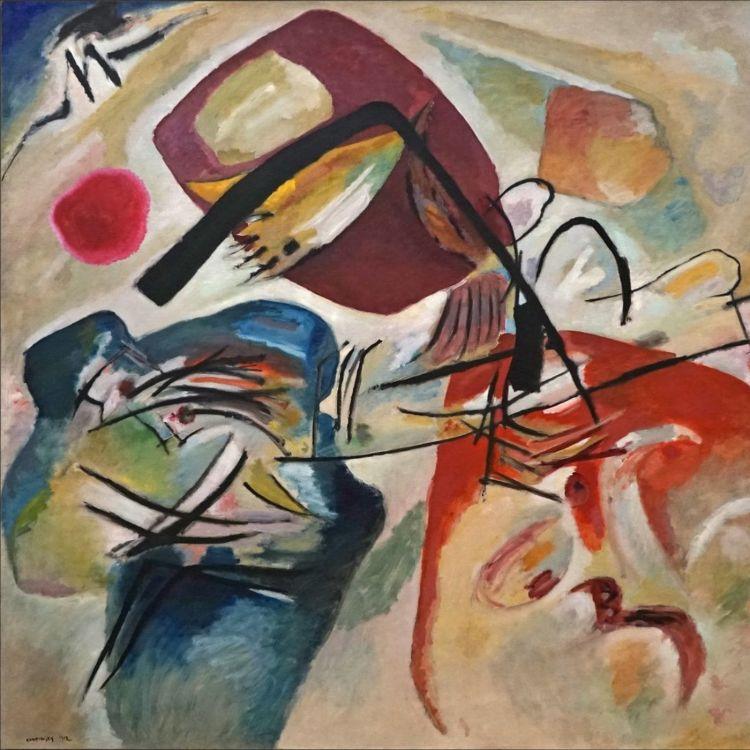cover art for 5 - Vassily Kandinsky, L'Arc noir, 1912