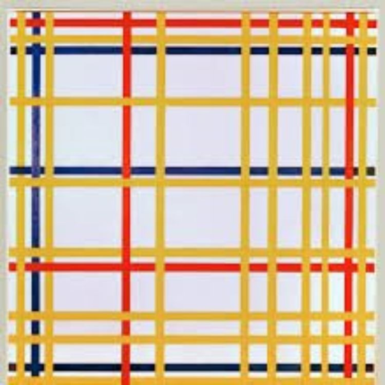 cover art for 6 - Piet Mondrian, New York City I, 1942