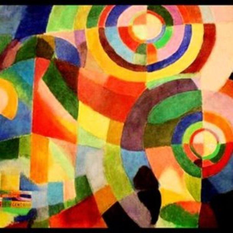 cover art for 7 - Sonia Delaunay, Prismes électriques, 1914