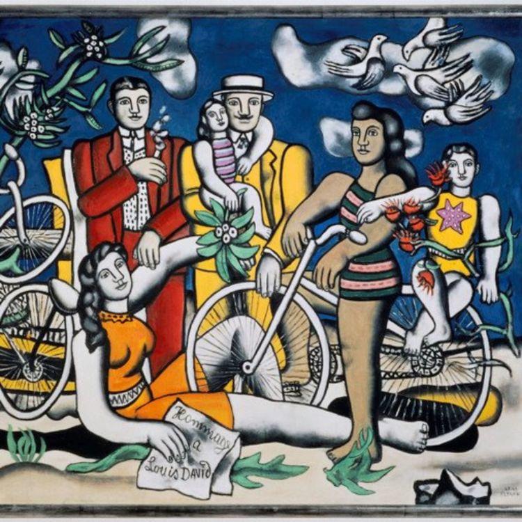 cover art for 9 - Fernand Léger, Les Loisirs, 1948-1949