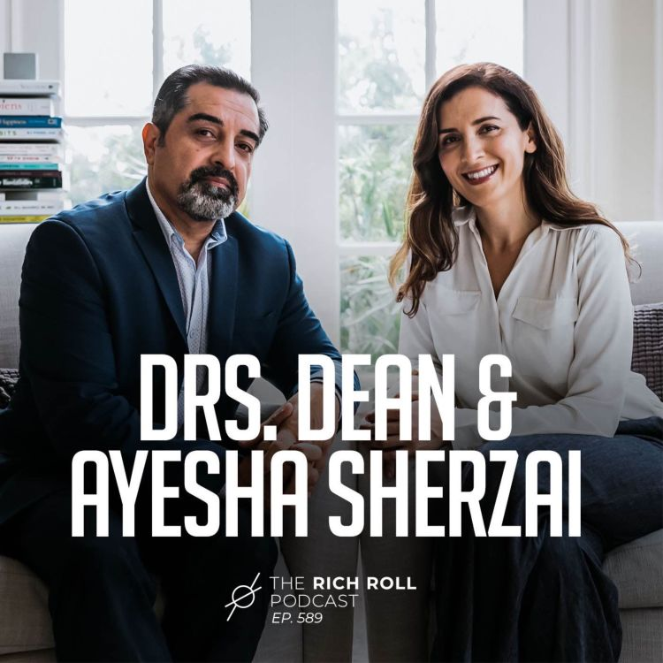 cover art for Optimize Your Brain: Team Sherzai On Fighting Cognitive Decline With Nutrition & Lifestyle