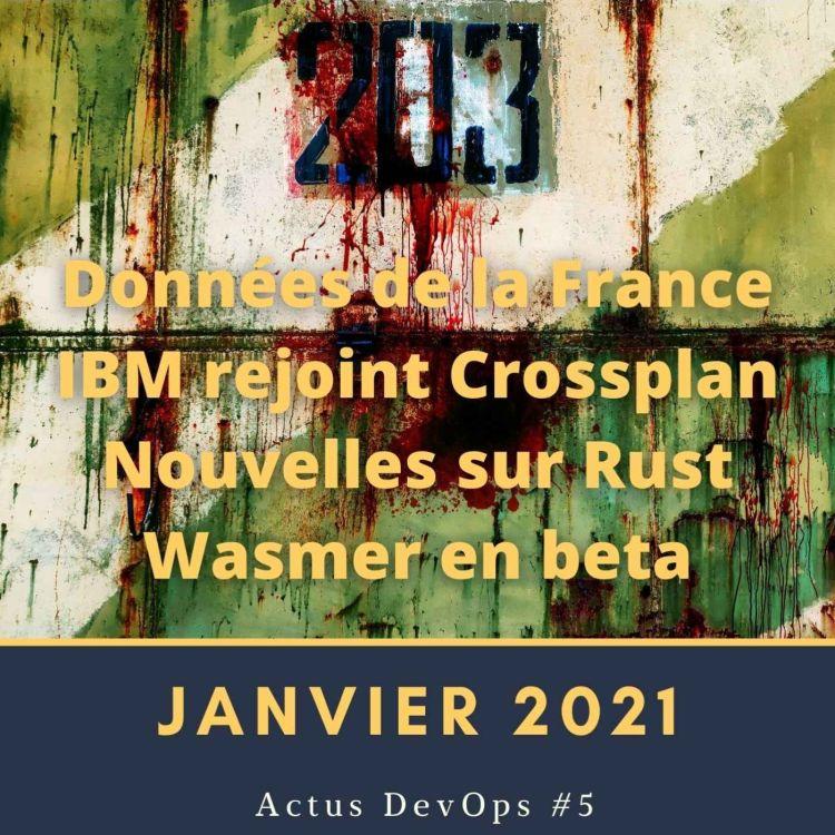 cover art for 🗞 Actu DevOps #5  - Janvier 2021