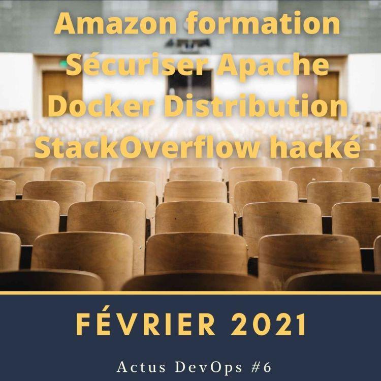 cover art for 🗞 Actu DevOps #6  - Février 2021
