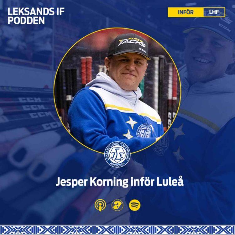 cover art for Inför Luleå hemma med Jesper Korning