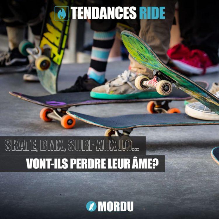 cover art for Tendances Ride #5 - Skate, BMX, SURF aux JO : vont-ils perdre leur âme?