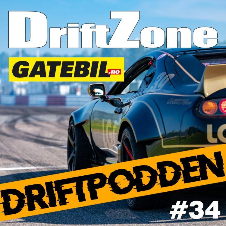 cover art for 34. Livepodd från Gatebil Trackdays på Mantorp Park