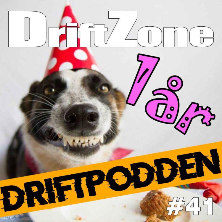 cover art for 41. Driftpodden firar ett år