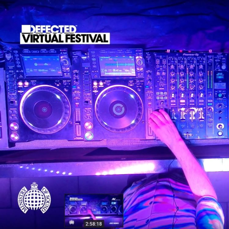 cover art for #007 Defected Records - The virtual rave that connected the world
