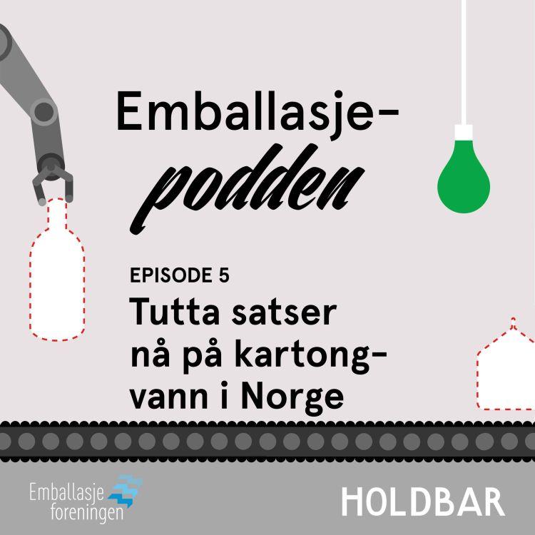 cover art for Tutta satser på kartong-vann i Norge