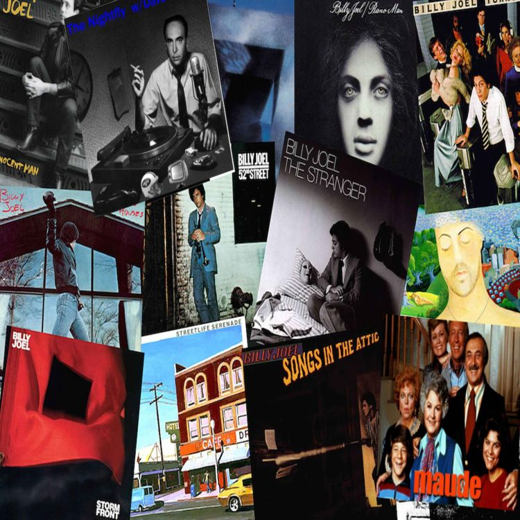 cover art for Billy Joel A to Z