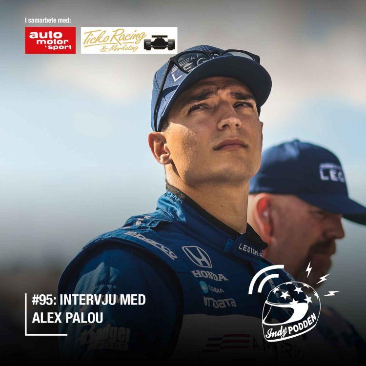 cover art for #95: Intervju med Alex Palou