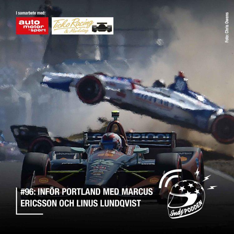 cover art for #96: Inför Portland med Marcus Ericsson och Linus Lundqvist