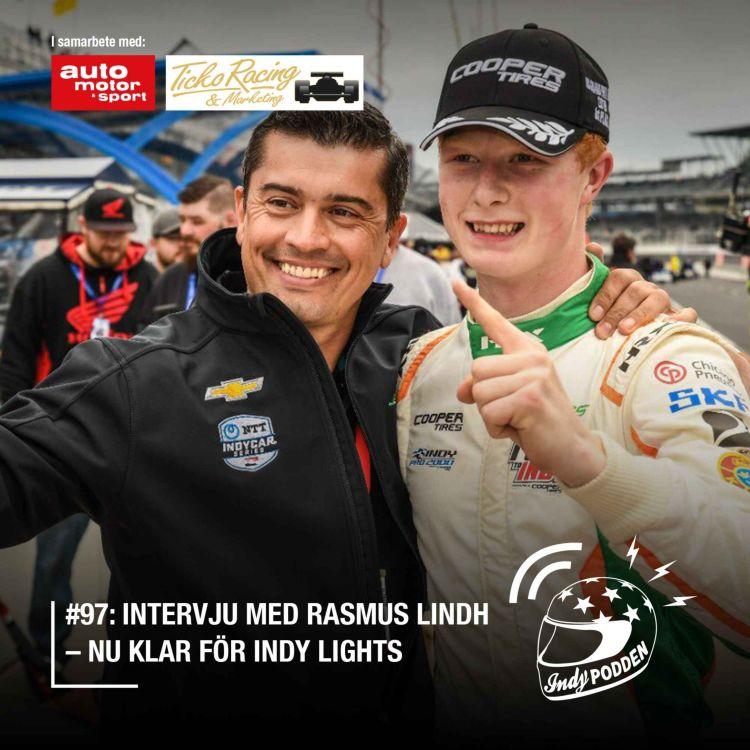 cover art for #97: Intervju med Rasmus Lindh –nu klar för Indy Lights