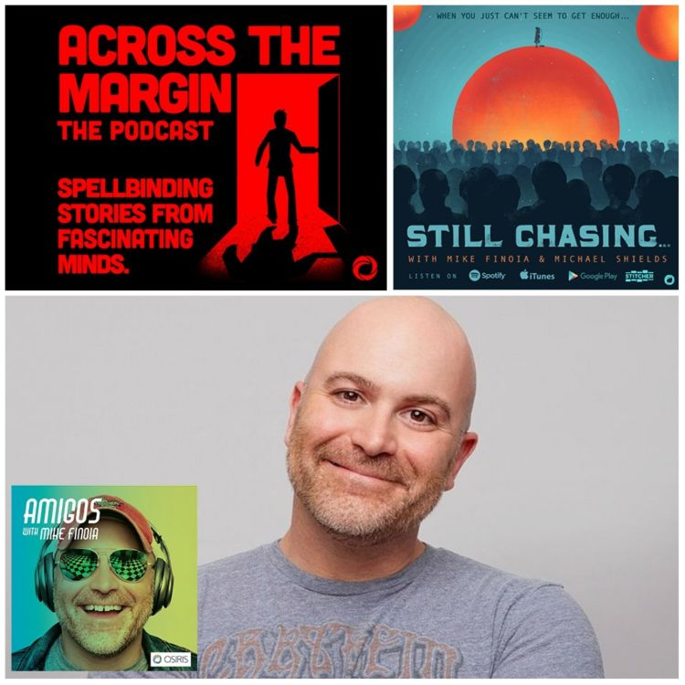 cover art for Episode 74: Still Chasing with Comedian Mike Finoia