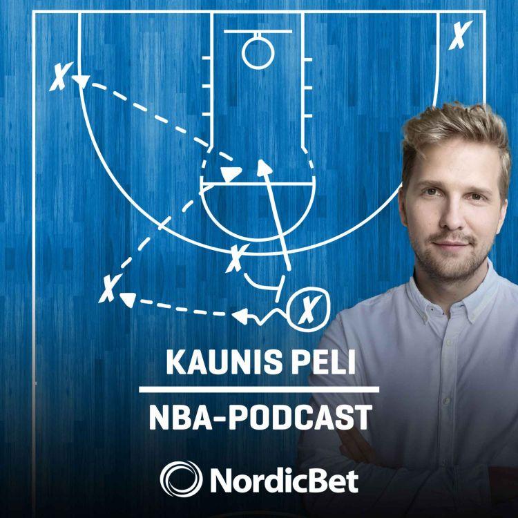 cover art for Kaunis Peli #44 - NBA:n runkosarjapalkinnot