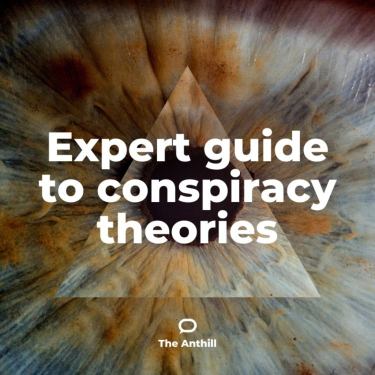 cover art for Expert guide to conspiracy theories part 1 – how to spot one