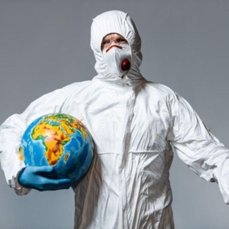 cover art for Virus, klimaendringene og litt om covid-19