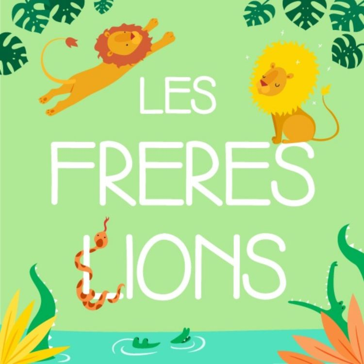 cover art for Les frères lions