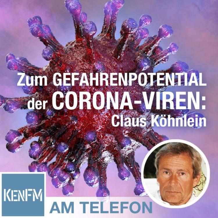 cover art for Am Telefon zum Gefahrenpotential der Corona-Viren: Claus Köhnlein