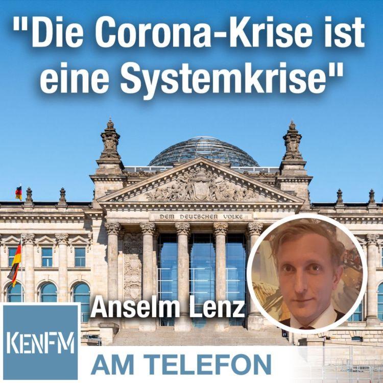 "cover art for Am Telefon zu ""Die Corona-Krise ist eine Systemkrise"": Anselm Lenz"