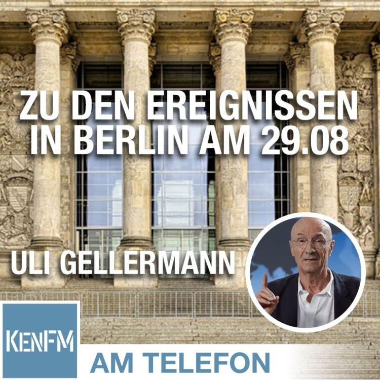 cover art for Am Telefon zu den Ereignissen in Berlin am 29.08.: Uli Gellermann