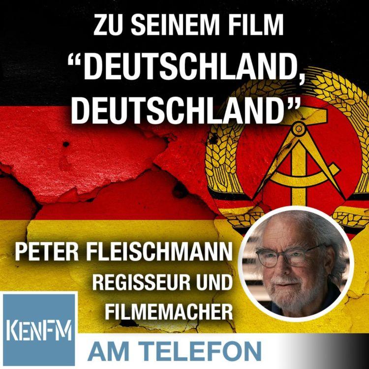 """cover art for Am Telefon zu seinem Film """"Deutschland, Deutschland"""": Peter Fleischmann"""