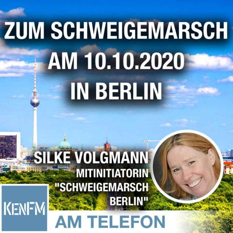 cover art for Am Telefon zum Schweigemarsch am 10.10.2020 in Berlin