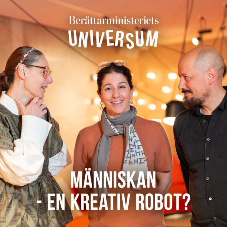 cover art for Människan - en kreativ robot?
