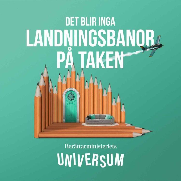 cover art for Det blir inga landningsbanor på taken