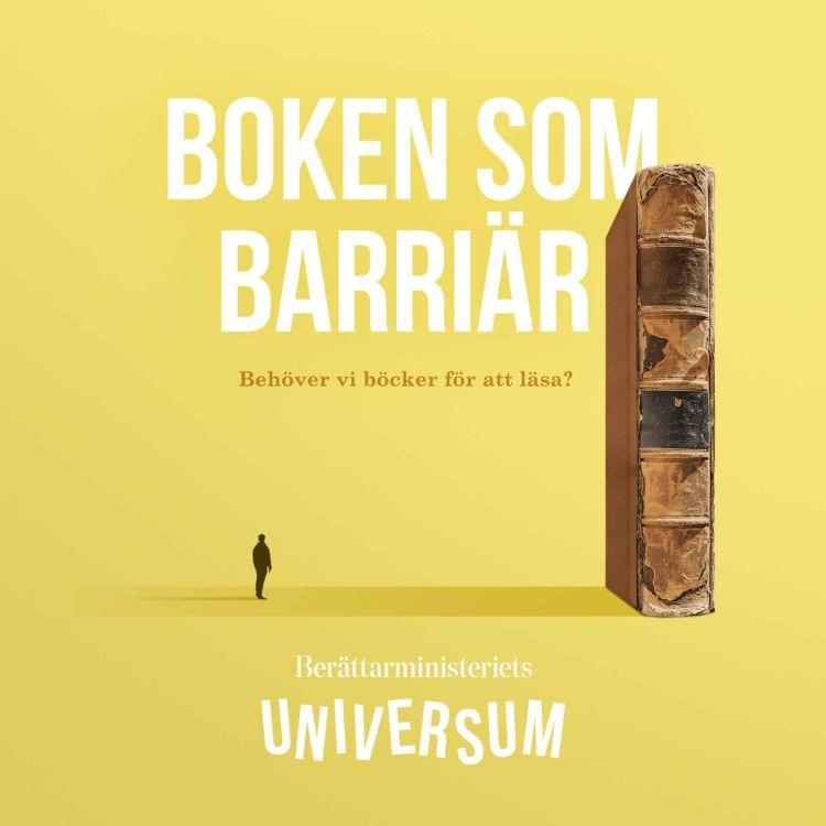 cover art for Boken som barriär